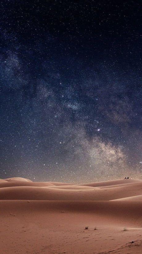 Funny Iphone X Wallpapers Desert Nightsky Night Skies Desert Pictures Desert