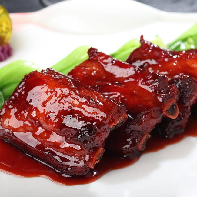 We have a 'Traditional Wuxi Sauced Spareribs' from Swiss-Belhotel Liyuan Wuxi #China