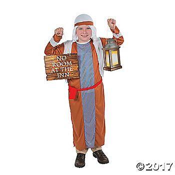 Boy's Innkeeper Costume & Prop Set