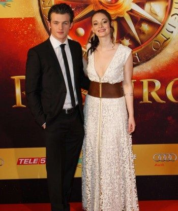 Maria Ehrich and Jannis Niewöhner (Gwen and Gideon) - Ruby Red ...