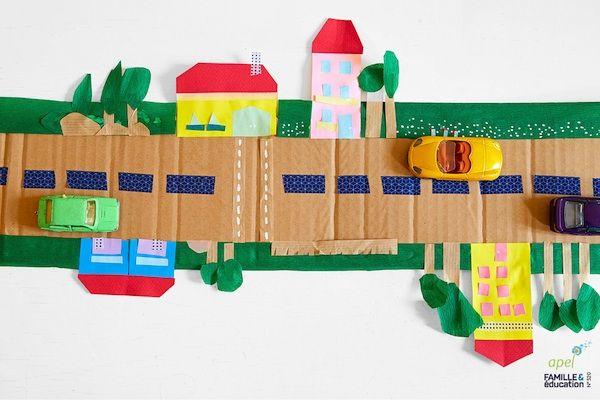 Construire une route pour ses petites voitures - Dès 3 ans - Apel - comment construire sa maison soi meme