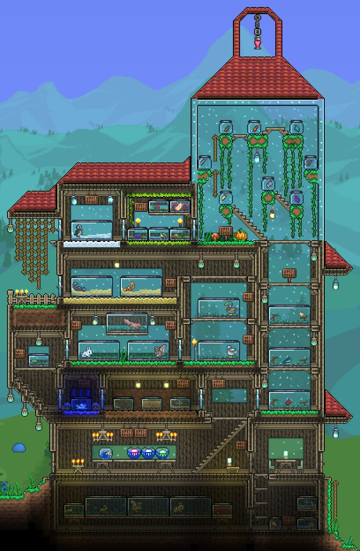 42 Best Images About Terraria House Ideas To Build On