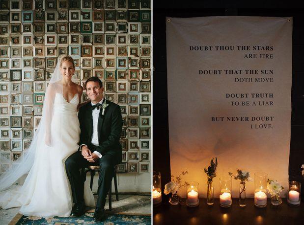 Jewel Tone Fall Wedding