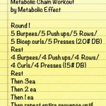 Weekend Workout by Metabolic Effect via getfitnaturally