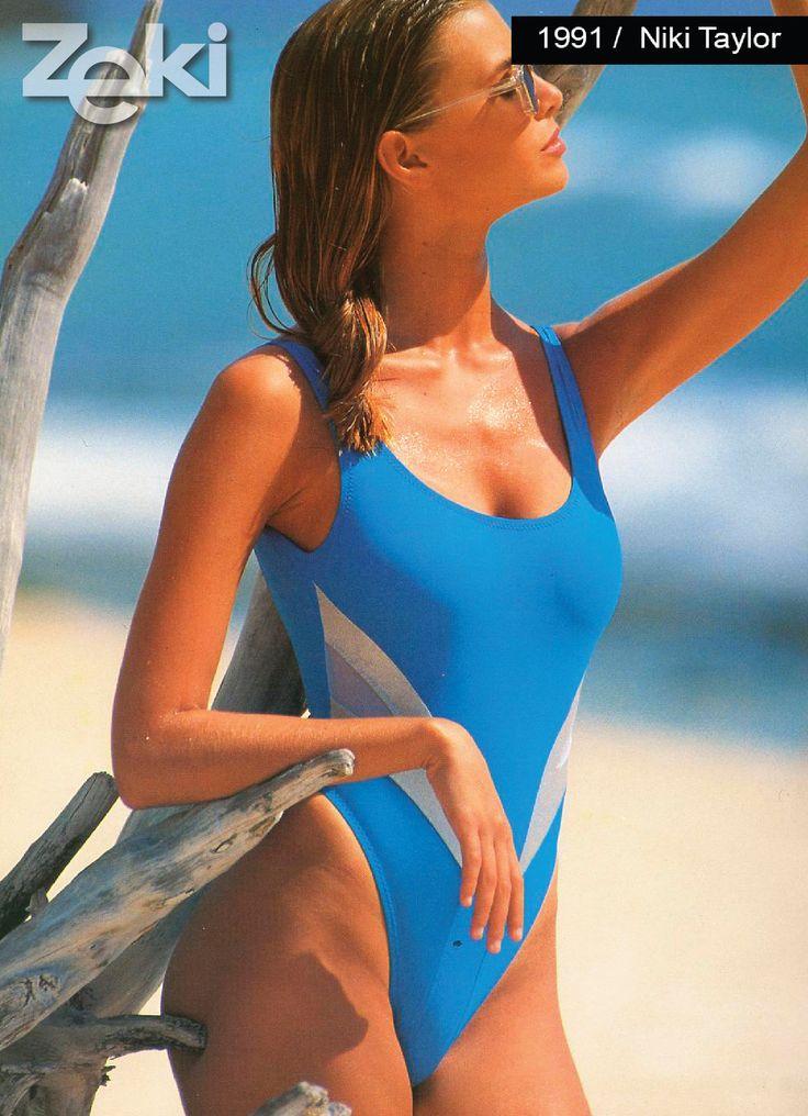 Niki Taylor was the model of Zeki Triko in 1991.