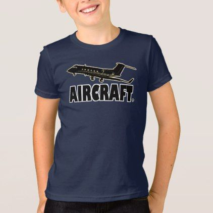 #Aircraft Modern Children Designer Kid-Shirt Sale T-Shirt - #giftideas for #kids #babies #children #gifts #giftidea