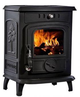 Lilyking Multi Fuel Stoves | Buy 5kW Lilyking 629 Matt Black Multi Fuel Stove Online | UK Stoves