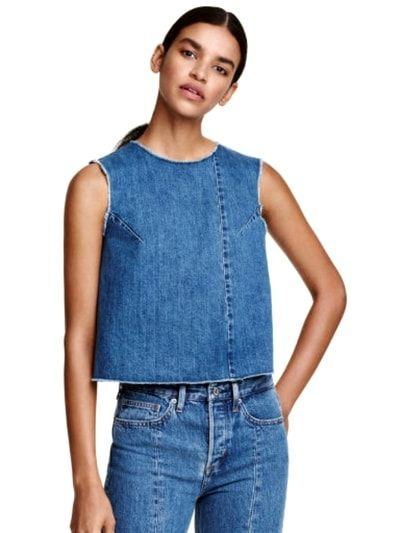 Crop top de H&M : Denim idylle - Journal des Femmes