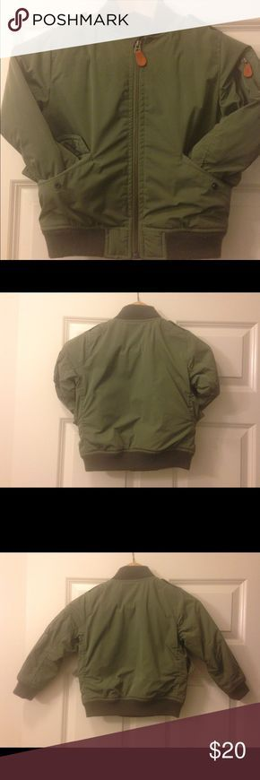 Boys Bomber Jacket (Toddler) #GAP Toddler boys Bomber Jacket  olive green size 5 years Worn but still in good condition. Pet and smoke free home GAP Jackets & Coats