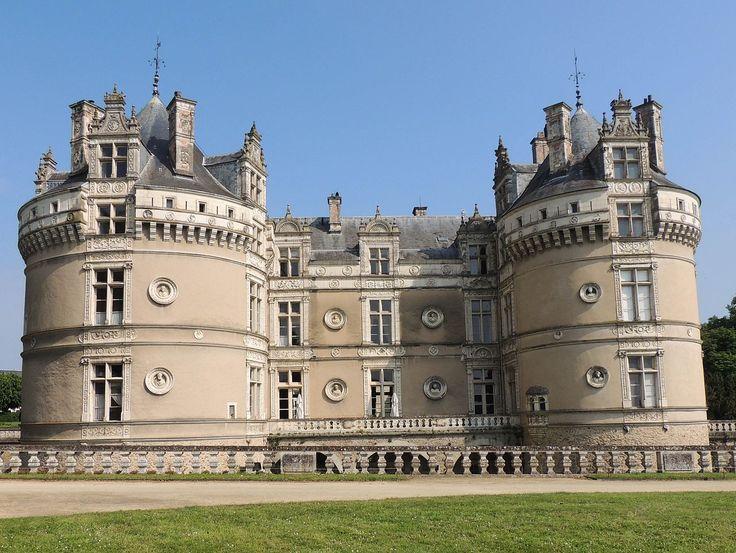 chateau du lude facade Francois I