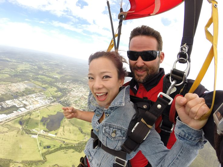 Want to discover the meaning of extreme adventure? Try tandem skydiving with us at Skydive Australia. #SkydiveAustralia #tandemskydiving #skydive #adrenaline