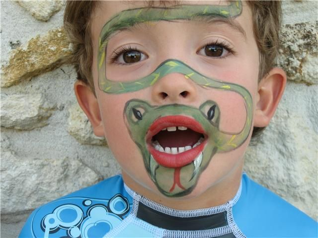 Pin by Dolores Zombory on Face Painting Ideas | Pinterest