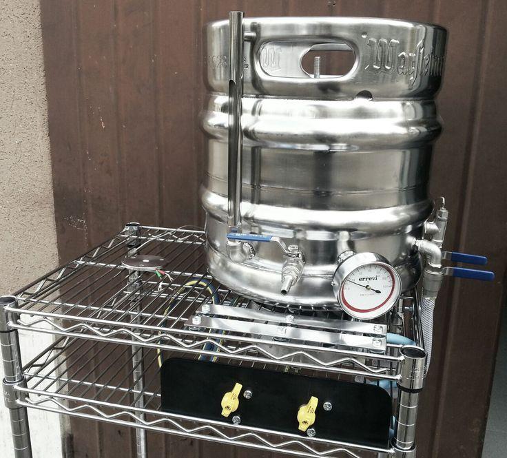 Homebrew -Micro impianto birra in fase di costruzione