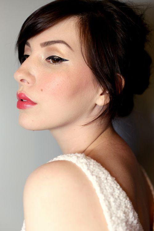 wedding day makeup...beautiful