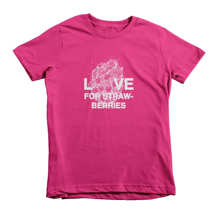 Love for Strawberries T-shirt - Kids