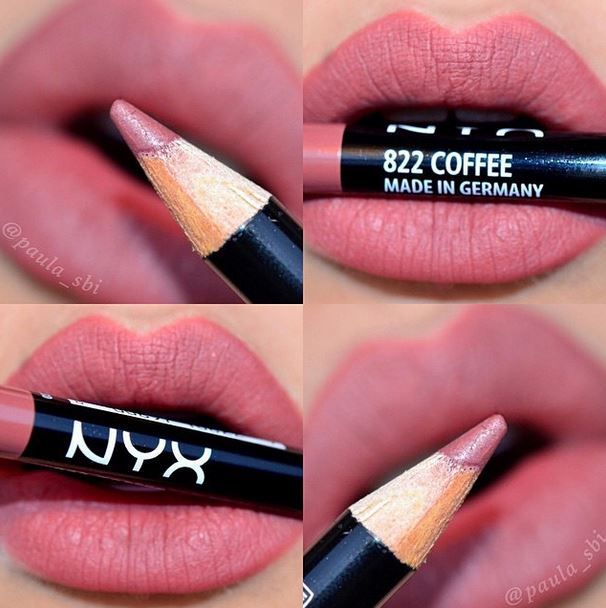 Nyx Cosmetics Slim Lip Pencil - coffee