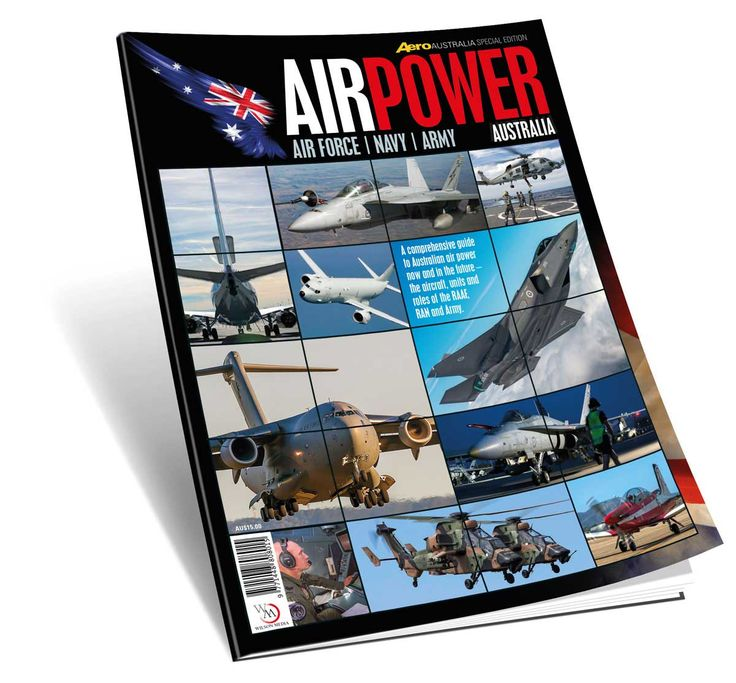 Air Power Australia, a special issue of Aero Australia. An invaluable reference source of detailed information, pictures and illustrations covering all current RAAF, RAN and Army aircraft and flying units, the ADF's move into the connected 21st century military world and also historical background features. On sale newsagents 9/11/17 $AU15.00 or buy direct from publisher.
