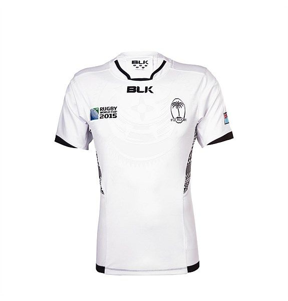 Fiji RWC Replica Jersey Junior Home 2015