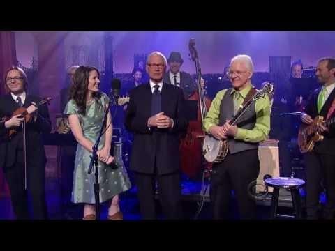 Steve Martin, Edie Brickell Head For Asheville On Letterman