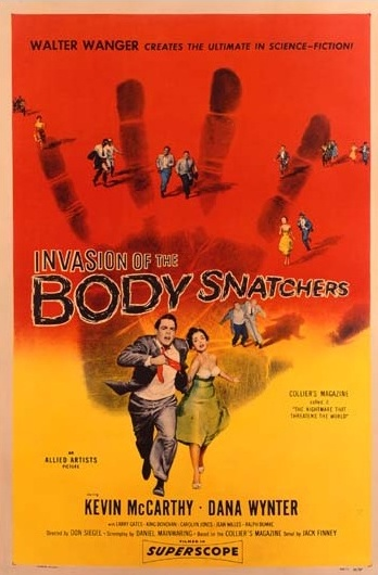 1956 Invasion of the Body Snatchers Original US Poster. £1750 at Vintage Seekers.