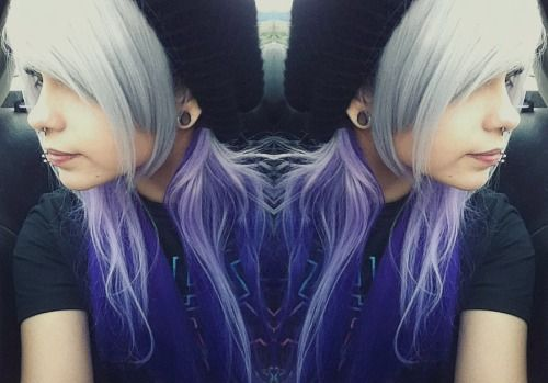 morgan joyce gauges | yay another weird side shot showing off my baby tunnels :3