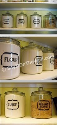 Kitchen Labels to Organize your pantry!