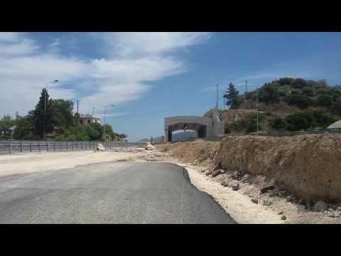 Προχωρά το bypass  για  την κατεδάφιση τής γέφυρας Κριού - YouTube
