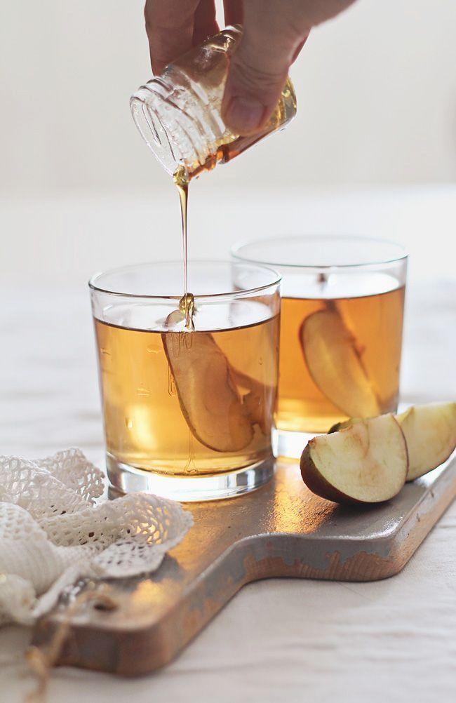 Honey Bourbon Apple Cider