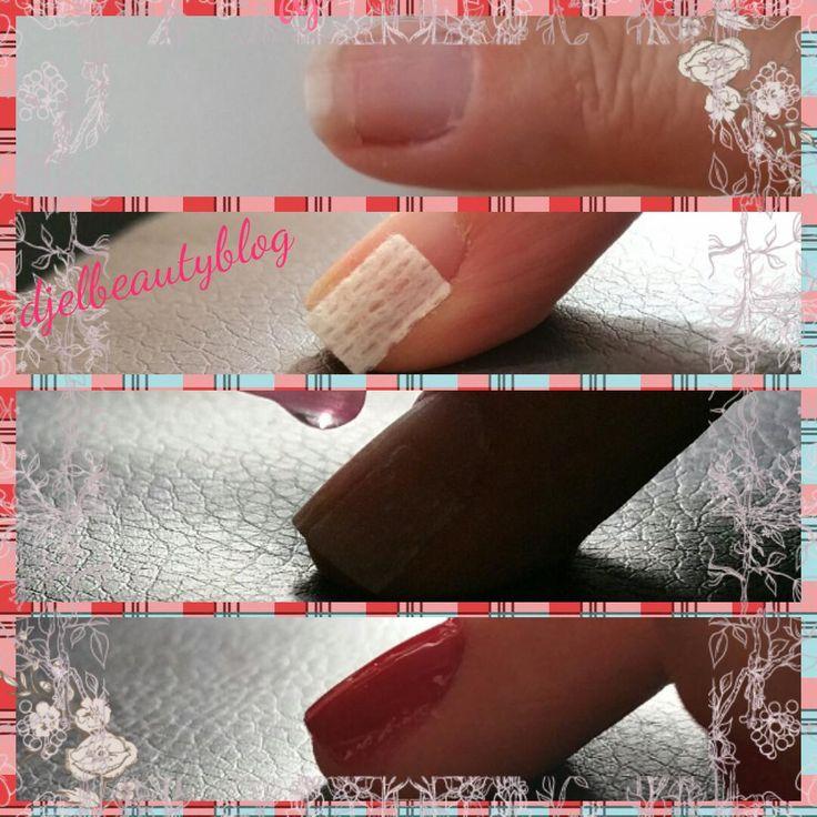 DIY gescheurde nagel fixen