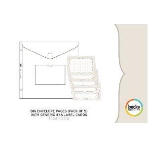 Big Envelope Pages