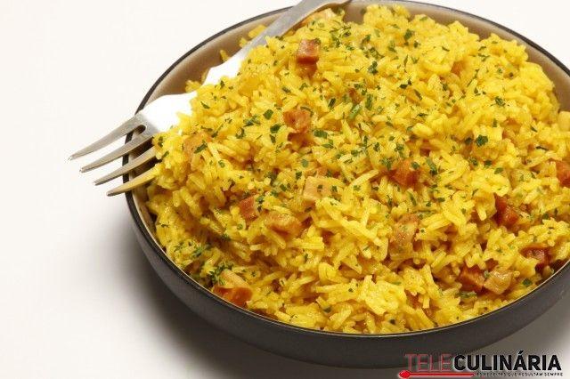 arroz-de-acafrao-e-bacon