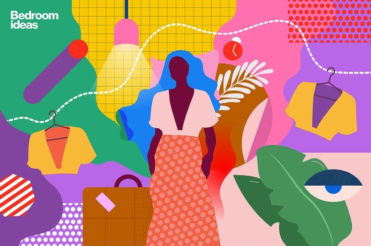Pinterest Home Trends 2017 Illustrations on Behance
