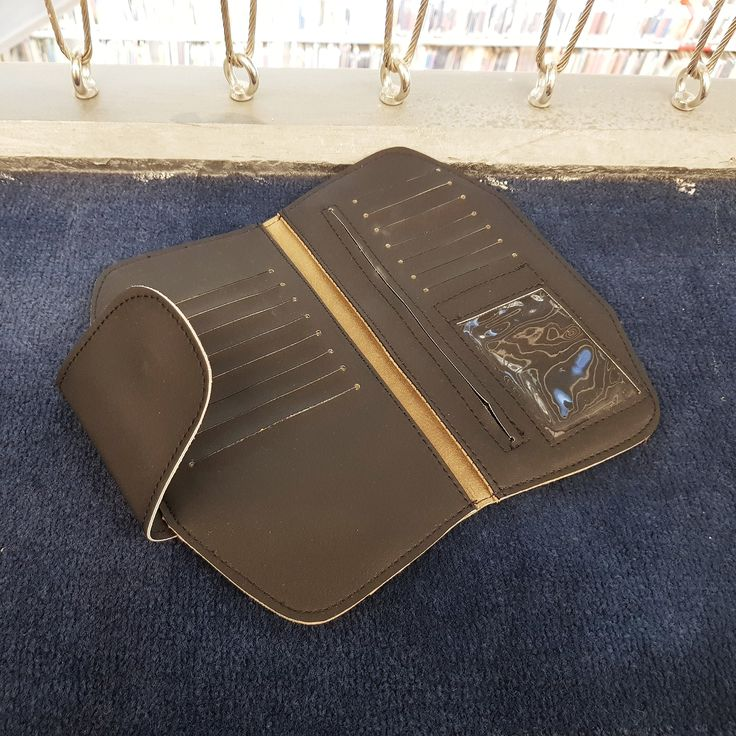 Black Vegan wallet women, Veg black wallet, Fashion wallet, Slim wallet women, Minimalist purse in black, Organizer wallet, gift for sister