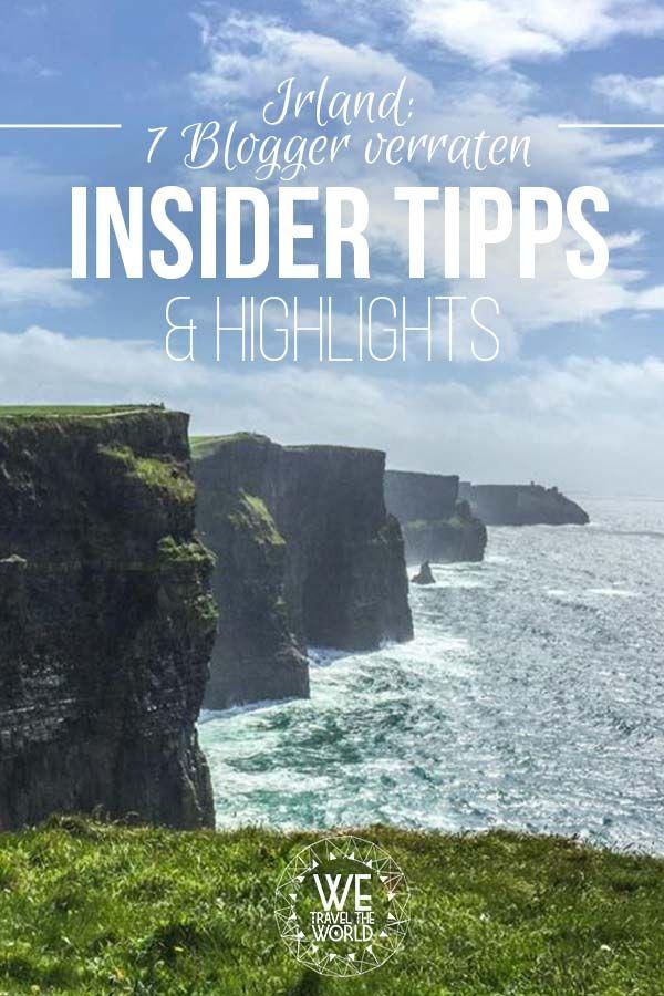 Irland Reise Tipps: 7 Blogger verraten Highlights ihres Irland Roadtrips. Hier findest du nützliche Tipps und Inspiration für deinen Irland Urlaub! #irland #landschaft #reisetipps