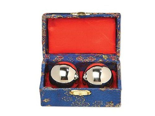 Cloisonne Balls  Silver Chrome Baoding Balls 1 12 >>> Be sure to check out this awesome product.
