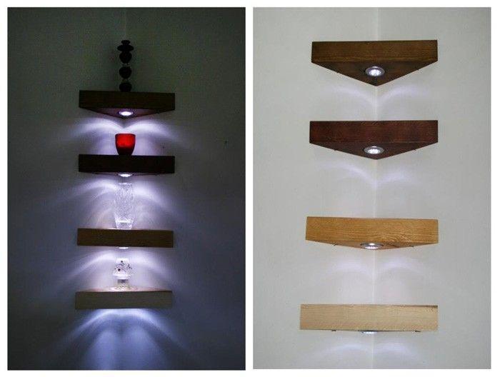 Eckregal Ikea Selber Bauen Holz Wohnzimmer Kreative Wandgestaltung Deko Ideen Diy Ideen14