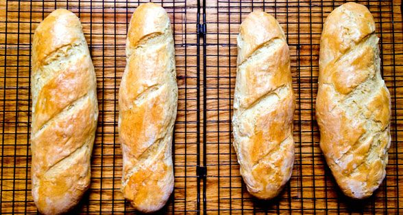 Low Sodium French Bread Recipe (*sodium free) __Really hard recipe, but it looks worth it.