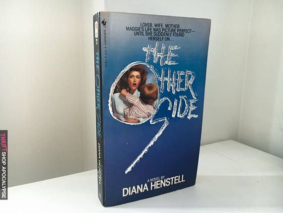 1984 #Horror #Paperback of The Other Side by Diana Henstel.  Features an embossed 3-d cover.  Cover is in great shape.  Some tanning to pages. #horror #novels #fiction #rare #paperback #80s #ghosts #slasher #trash #haunting #poltergeist #terror #horrornovels #paperback #scarybooks