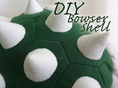mario karts turtle shells diy | Did you miss part one of the Bowser costume series ?