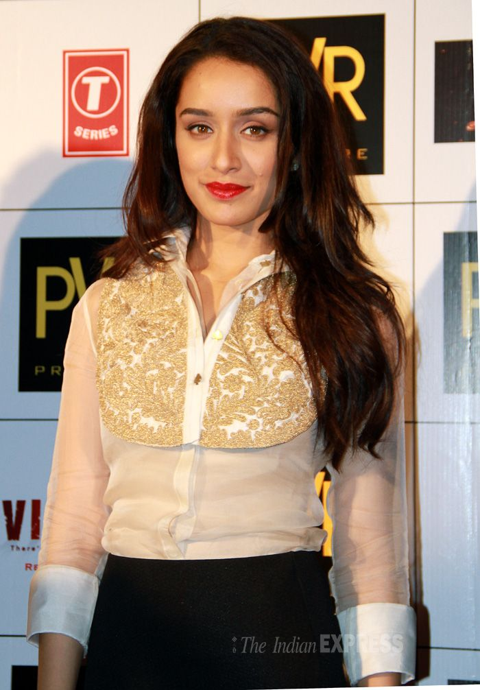Shraddha Kapoor promoting 'Ek Villain' in Delhi. #Style #Bollywood #Fashion #Beauty
