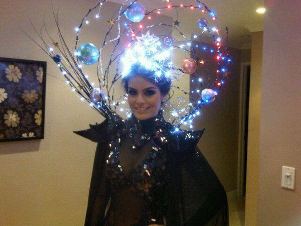 Miss Universe 2010 Halloween Costume.