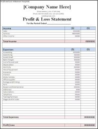 Image result for profit and loss statement self employed