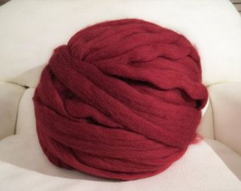 COLOUR SAMPLES-Chunky Merino wool yarn sample 100% by mycosyLondon