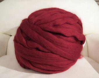 COLOUR SAMPLES-Chunky Merino wool yarn sample 100% by mycosyLondon