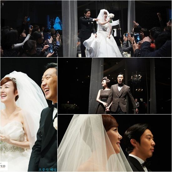 Photos from HaHa and Byul's wedding ceremony revealed