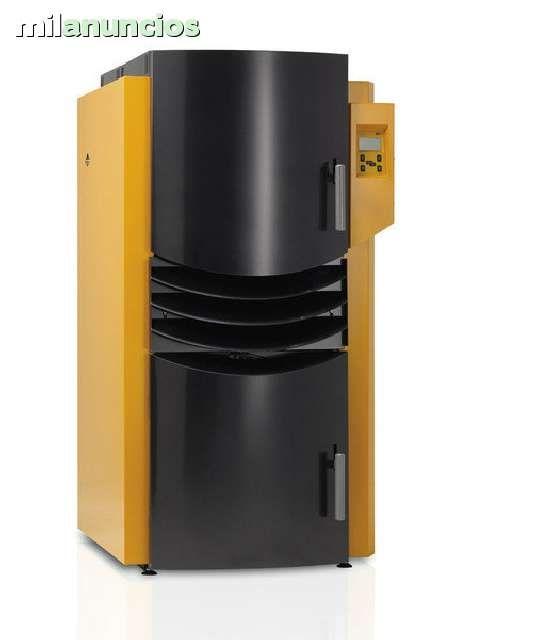 . Calderas de biomasa de pellets y pellets/le�a desde 15-40kw. mas informacion en www.rocuservicios.com