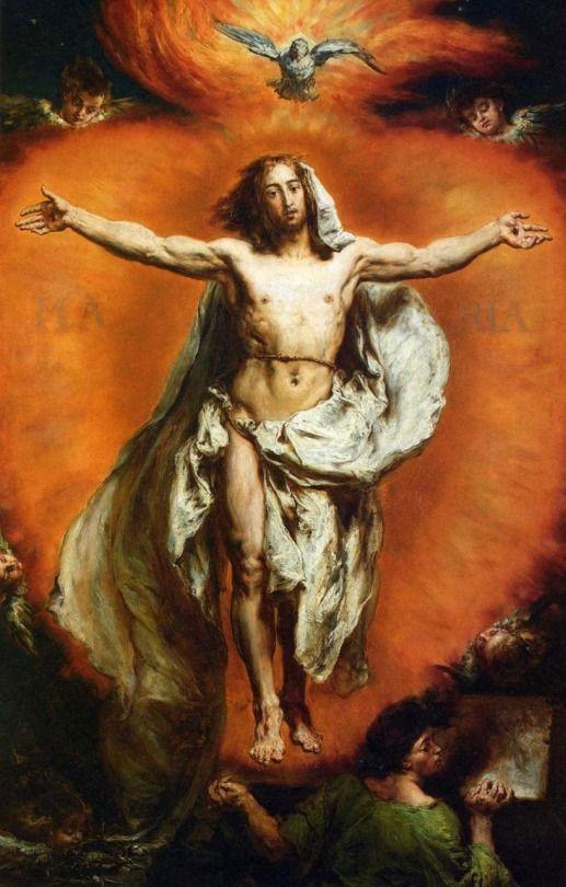 Jan Matejko - Ascension of Christ