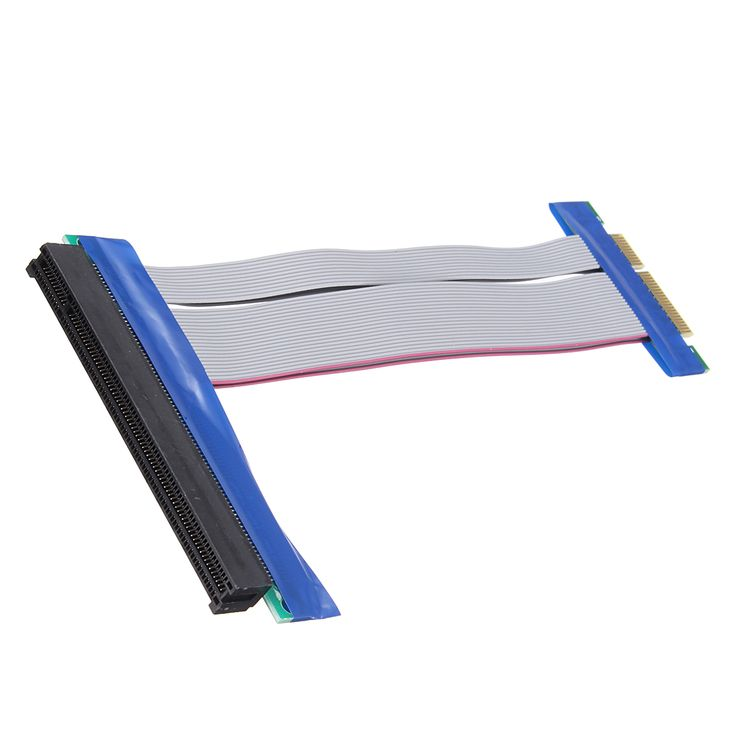 PCI-E Express Extension Cable Flex Ribbon 4X To 16X Extender Riser Card  Specification: 1. Item: PCI-E 4X to 16X Extension Cable 2. Interface: PCI-E 4X to 16X 3. Size: 18.4105.7cm 4. Weight: 36g Features: 1. PCI-E express 4X to 16X riser card adapter extender with flex cable 2. One end is PCI-E 16X female and another end is PCI-E 4X male 3. Flex Ribbon Riser Card. 4. No Driver necessary and not support hot swappable. Package Included: 1 X PCI-E Express Extension Cable Flex Ribbon 4X To 16X…