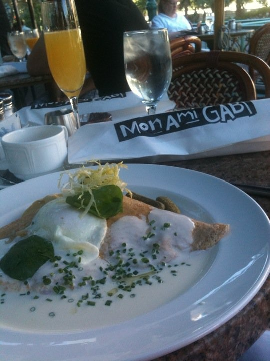 17 Best Images About Mon Ami Gabi On Pinterest Peach Crepes Eating Places