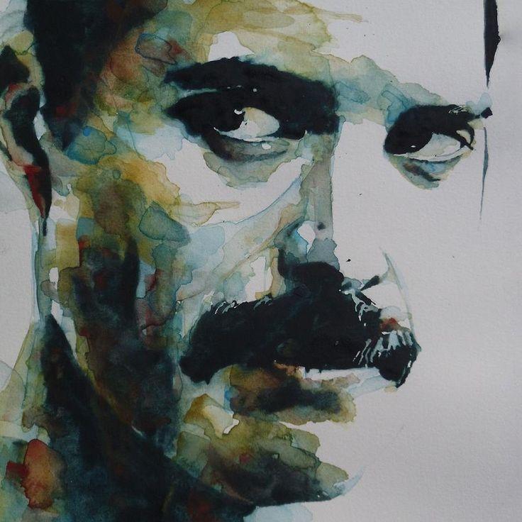 Freddie Mercury Painting by Paul Lovering